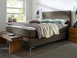 boxspringbett in z b 200x220 cm g nstig kaufen paguera. Black Bedroom Furniture Sets. Home Design Ideas