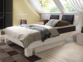 Boxspringbett Port Louis mit seperatem Bettschubkasten