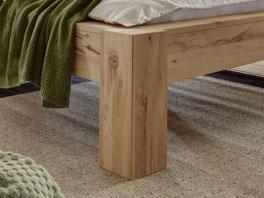 Bettgestell Bett Busto durch die Bettfüße und die Komforthöhe