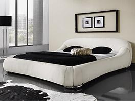 casablanca Bett in cremeweiss in der Größe 180x200cm