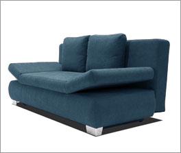Couch Blue-River mit höhenverstellbarem Kopfende