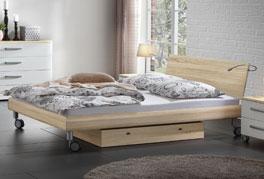 Doppelbett Antia besitzt ein ausgeprägtes Design und ist auch in 160x200cm erhältlich