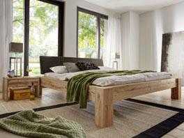 Doppelbett Busto aus Massivholz in 140x200cm erhältlich