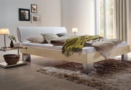 Einzelbett und Doppelbett Nuno aus Buche