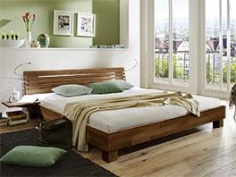 Doppelbett Marmore in zwei Überlängen