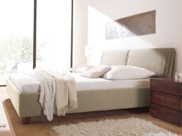 Das Doppelbett Pablo aus Massivholz Buche
