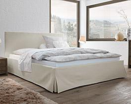 Doppelbett Pilio in Komfort-Größe