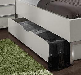 Doppelbett Salford mit Stauraum durch Schubkasten