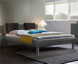 Das Doppelbett Enna ist auch in Überlänge und in 140x200cm erhältlich