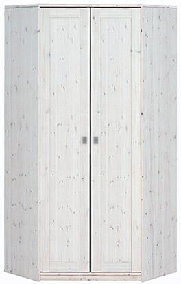 Weiße Kinderzimmermöbel - Eck-Kleiderschrank von Lifetime