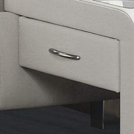 Einhängekonsole Nuca mit leichtgängiger Schublade