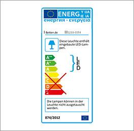 Energieverbrauch des Spiegeltüren-Kleiderschranks Farim