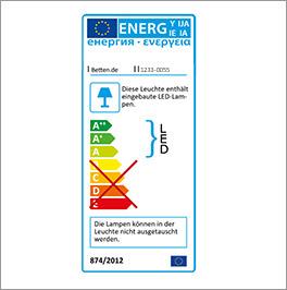 Energieverbrauchskennzeichnung für Drehtüren-Kleiderschrank Farim