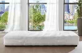 Hochwertige Gelax-Schaumfeder-Matratze Hylex-Spring inklusive Textilgriffe