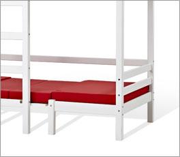 Hoch- und Etagenbett Kids Heaven mit zweiter Liegemöglichkeit