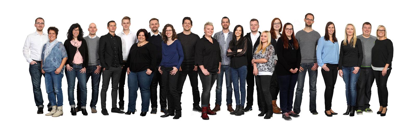 Unser hoch motiviertes und dynamisches Team kümmert sich um eine reibungslose Abwicklung und Ihre Zu
