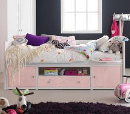Jugendbett für Mädchen - Kojenbett Lifetime