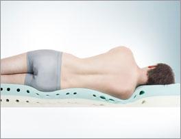 Kaltschaummatratze youSleep 200 mit optimaler Anpassung