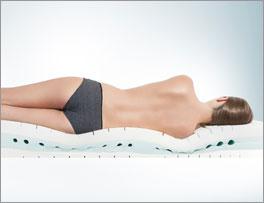 Kaltschaummatratze youSleep 600 mit optimalem Liegeempfinden
