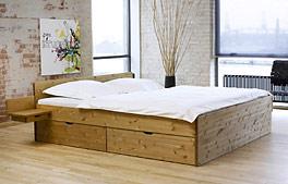 Schubkasten-Bett Norwegen Kiefer