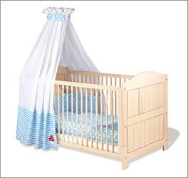 Stabiles und günstiges Kinderbett Finja aus Massivholz