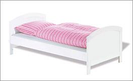 Kinderbett Laura mit schlichtem Design in 70x140 cm