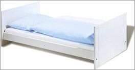 Massives Kinderbett Puro ohne Gitter