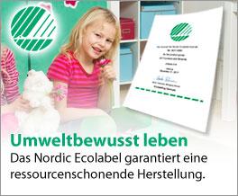 Nachhaltige Kindermöbel mit Ecolabel