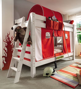 Kindersicheres Stockbett Kids Dreams mit Absturzsicherung