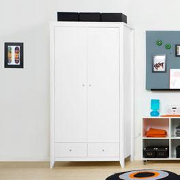 Kleiderschrank Kids Heaven inklusive drei schmalen Einlegeböden