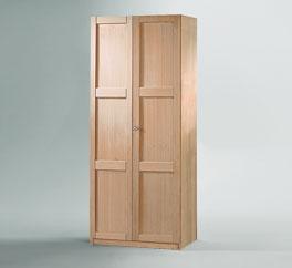 Preisgünstiger Kleiderschrank Mira aus Holz