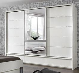 Kleiderschrank Salford mit optionaler Spiegeltür