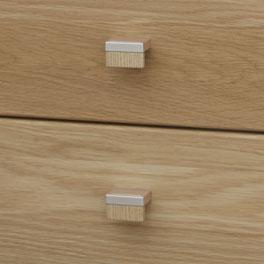 Stilvolle Kommoden- und Nachttisch-Griffe von Koga
