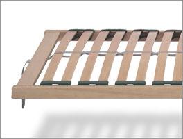 Stabiler Lattenrost basicflex mit 28 Federleisten