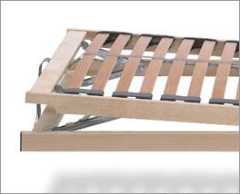 Lattenrost basicflex mit Kopf- und Fußverstellung erlaubt bequemes Sitzen und Liegen