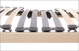Lattenrost electroflex mit flexiblen Leisten