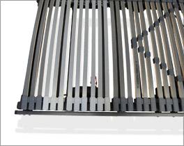 Lattenrost orthowell royalflex motor mit guter Federwirkung