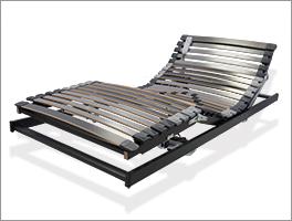 Verstellbarer Lattenrost orthowell ultraflex XXL mit Motor