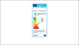 Energieverbrauchskennzeichnung LED-Bettleuchte Watford