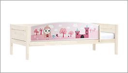 Hochwertiges Lifetime Kinderbett mit Prinzessinnen-Motiv