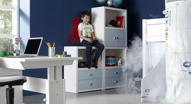 LIFETIME Regalsystem Original für Kinder mit praktischem Stauraum