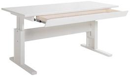 Lifetime Schreibtisch Original mit Schublade in weiß lackiert