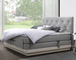 Luxusbett Fremont mit Doppelbettbreite ab 160cm