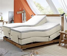 Komfortables Luxus-Boxspringbett Arezzino Elektro mit Verstellung