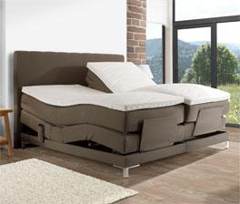 Luxusbett Denton mit 4-Zonen-Elektro-Verstellung