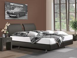 Luxusbett Fernando mit Boxspring-System für optimalen Komfort
