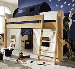 Kiefernbett aus Massivholz Kids Dreams natur