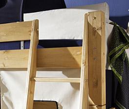 Mini Hochbett Kids Dreams in hochwertigem Design mit Leiter