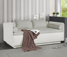 Modernes Schlafsofa Eriko inklusive Matratze