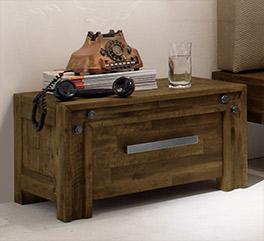 Schubladen-Nachttisch Caldera mit Stauraum
